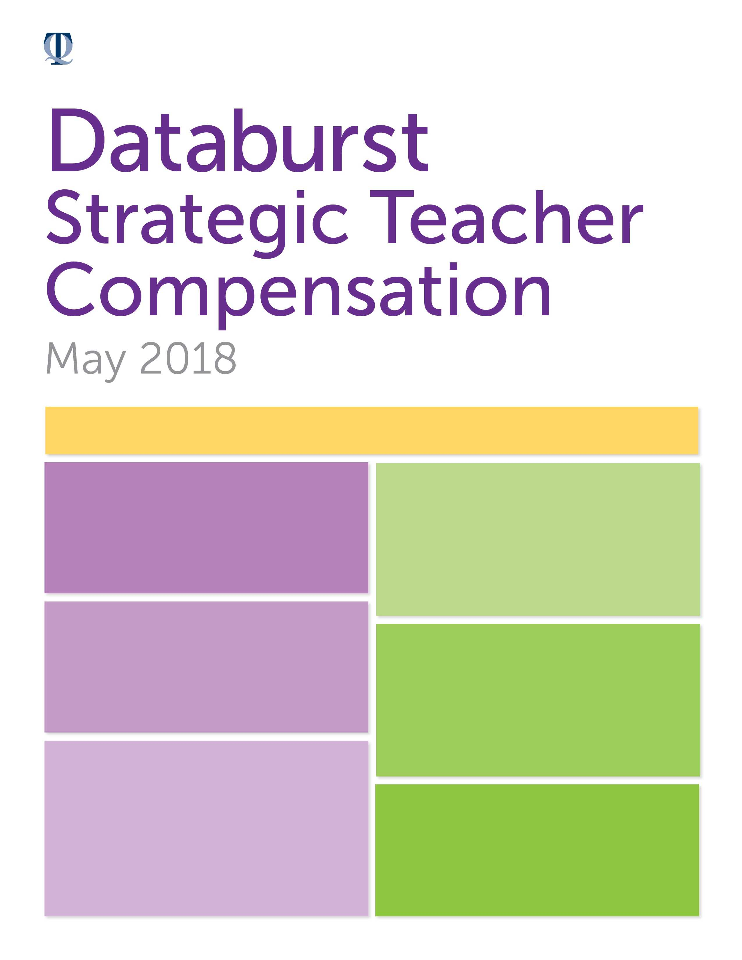 Strategic Teacher Compensation Databurst Press Release