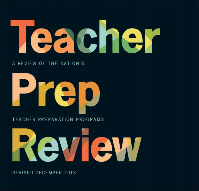 Teacher Prep Review 2013 Report