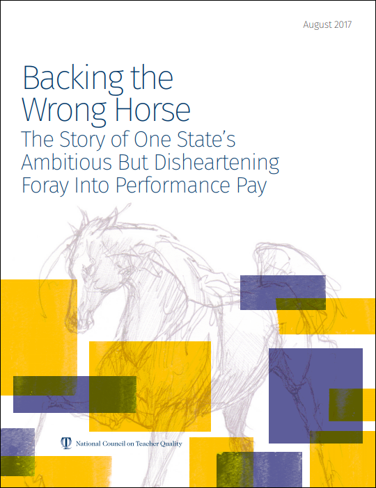Backing the Wrong Horse: The Story of One State's Ambitious But Disheartening Foray Into Performance Pay