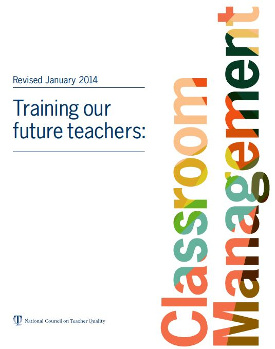 Training Our Future Teachers: Classroom Management