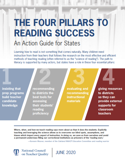 The Four Pillars to Reading Success