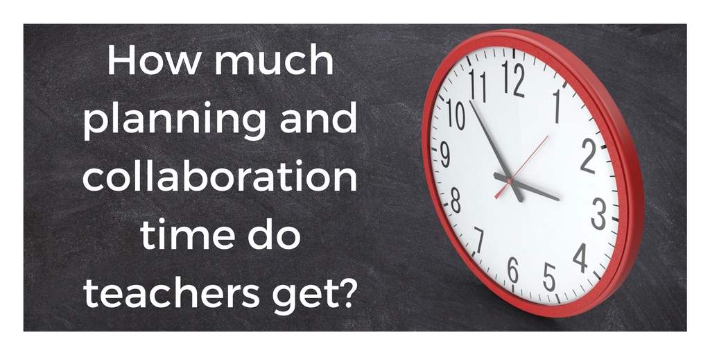November 2017: Teacher Planning and Collaboration Time