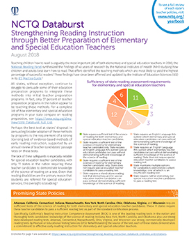 Strengthening Reading Instruction Databurst