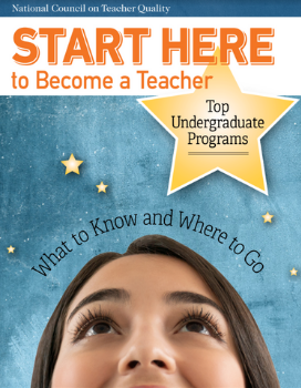 Start Here to Become a Teacher