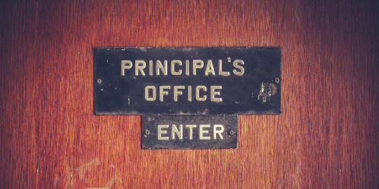 Two easy steps to a better principal