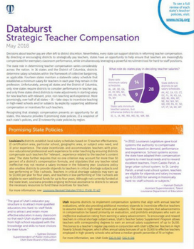 Strategic Teacher Compensation Databurst