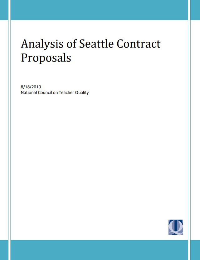 Analysis of Seattle Contract Proposals